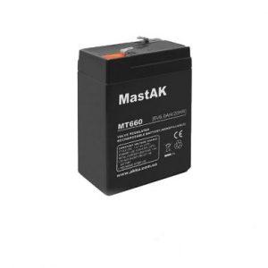 MT660 SLA baterija 6Volt 6А