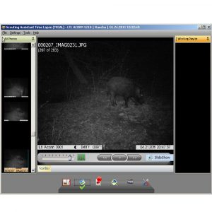 Scouting Assistant Basic - softver za pregled slika na lovačkim kamerama
